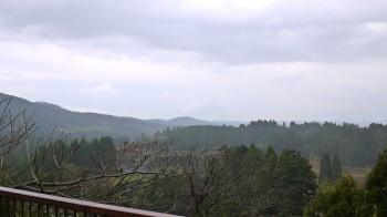 展望台から桜島