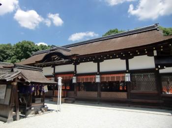 下賀茂神社本殿2