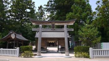 八重垣神社入口