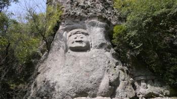 熊野磨仏 不動明王