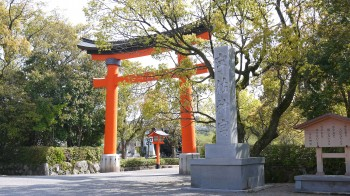 宇佐神宮入口