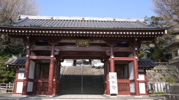 龍口寺山門