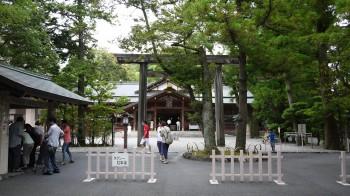 猿田神社全景