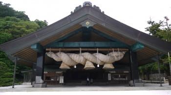 出雲大社神楽殿2