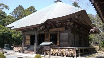 油山寺薬師本堂