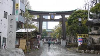 富岡八幡宮入口