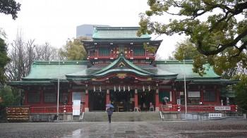 富岡八幡宮社殿