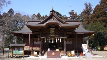 水戸八幡宮拝殿