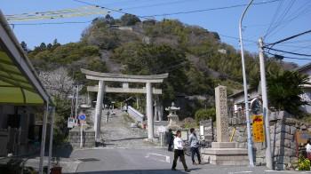 久能山入口一の鳥居