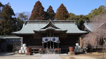 吉田神社本堂