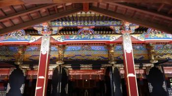 久能山拝殿彫刻