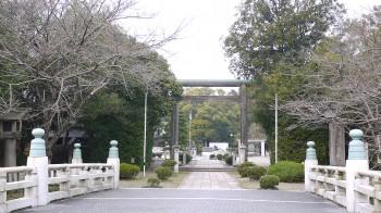 彦根護国神社入り口