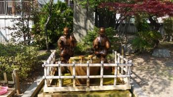 亀戸香取神社像