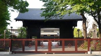 寛永寺黒門