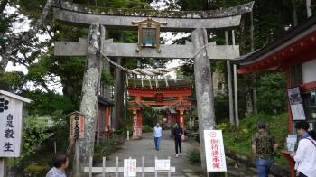 達谷西光寺入口