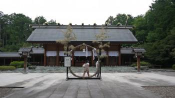 櫻木神社拝殿