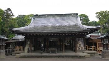 大宮氷川神社拝殿