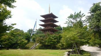 成相寺五重塔