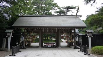 櫻木神社神門