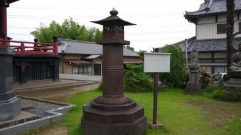慈恩寺灯籠