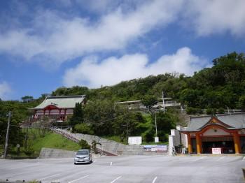 成田山全景