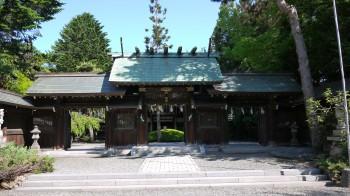 琴似神社神門
