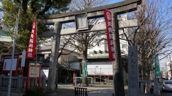 矢先神社入口