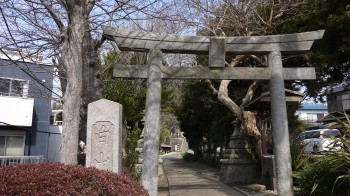 白山神社入口