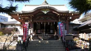 今戸神社本殿