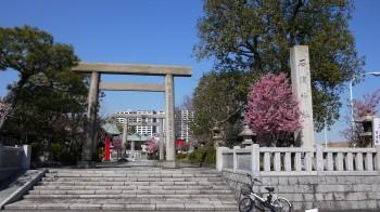 石浜神社入口