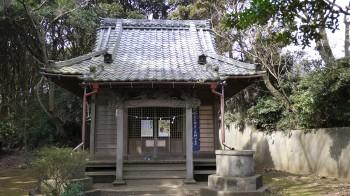 神明社本殿