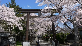 富士御室浅間神社入口