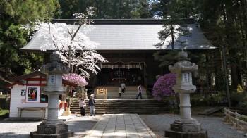 河口浅間神社拝殿