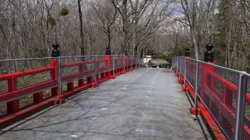 山中諏訪神社連絡橋