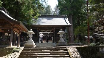 河口浅間神社随信門