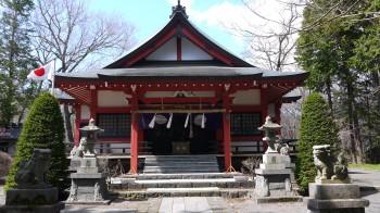 山中浅間神社拝殿