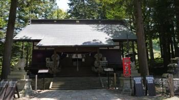 山家神社社殿