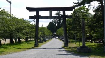 中村神社参道