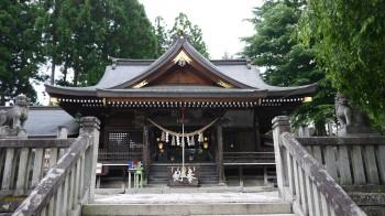 桜山神社拝殿