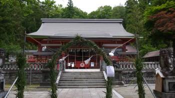 遠野八幡拝殿