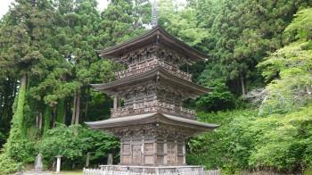 慈恩寺三重塔