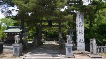 日高神社入口