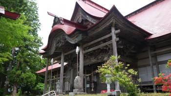 岩根沢三山神社社殿
