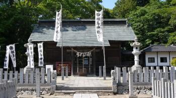 相馬神社拝殿