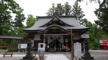 寒河江八幡社殿