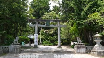 駒形神社入口