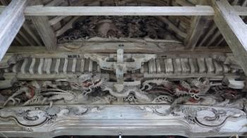 岩根沢三山神社彫刻