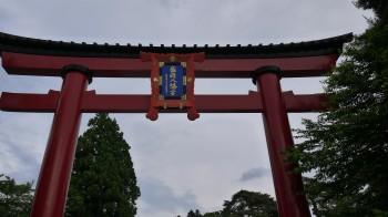 盛岡八幡宮入口