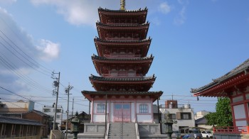 観音寺五重塔