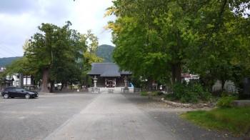 飯坂温泉八幡神社入口